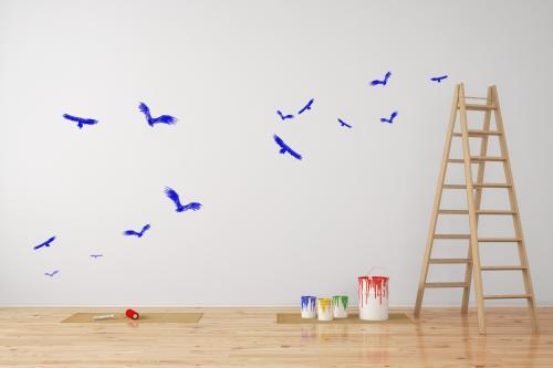 malowanie ścian od szablonów