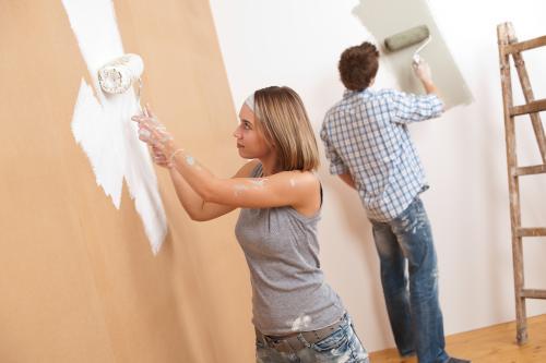 samodzielne malowanie mieszkania
